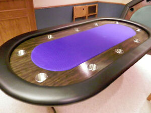 The BEST Local High Quality Built Poker Tables from $300 and up. Regina Regina Area image 2