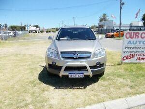 2009 Holden Captiva CG LX SERIES 7 SEATER Gold Automatic Wagon