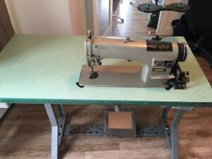 Commercial Consew sewing machine.