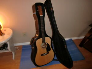 Fender Acoustic Guitar with Case