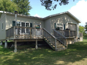Rice Lake Cottage Rental on an island