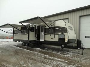 Bunkhouse RV Trailer with Dinette on Awning Side! Kitchener / Waterloo Kitchener Area image 1