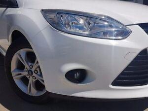 2015 Ford Focus LW MKII MY14 Trend PwrShift White 6 Speed Sports Automatic Dual Clutch Sedan