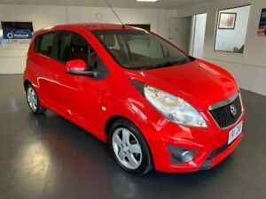 2011 Holden Barina Spark MJ Update CDX Red 5 Speed Manual Hatchback North Toowoomba Toowoomba City Preview