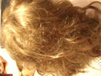 Perücke Echthaar Damen blond etwa Kinnlänge ohne - Blonde Pony Perücke
