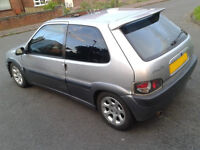 Saxo VTR lowered rear axle