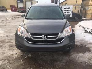 2010 HONDA CRV EX-L AWD 2.4L POWER HEATED LEATHER SEATS/SUNROOF