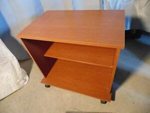 Wood Tv Cart Stand