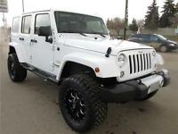 2015 Jeep Wrangler Unlimited Sahara - Only $290 b/w GST Included
