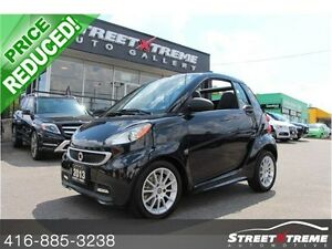 2013 Smart fortwo CONVERTIBLE, PASSION, NAVI, CLEAN CARPROOF