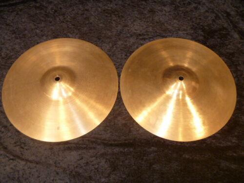 "RARE, ZILCO CONSTANTINOPLE factory 12"" hi-hats, 512/552 grams, light, fast, jazz"