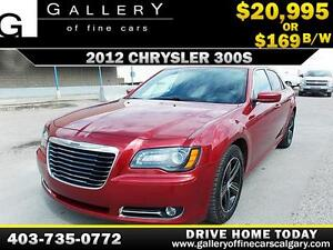 2012 Chrysler 300S $169 bi-weekly APPLY NOW DRIVE NOW