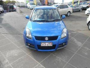 2006 Suzuki Swift EZ Sport Blue 5 Speed Manual Hatchback Greenslopes Brisbane South West Preview