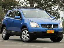 2007 Nissan Dualis J10 ST AWD Blue 6 Speed Manual Hatchback Blair Athol Port Adelaide Area Preview