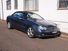 2004 Mercedes-Benz CLK320 A209 Avantgarde Blue Mica 5 Speed Automatic Cabriolet Petersham Marrickville Area Preview
