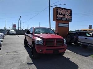 """2007 Dodge Ram 1500 4X4**20"""" RIMS**35"""" TIRES***ONLY 89 KMS***"""