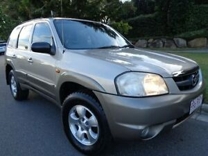 2001 Mazda Tribute Classic Gold Metallic 4 Speed Automatic 4x4 Wagon Chermside Brisbane North East Preview