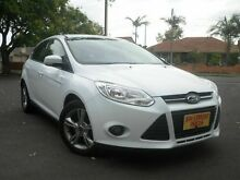2011 Ford Focus LW Trend PwrShift White 6 Speed Sports Automatic Dual Clutch Hatchback Melrose Park Mitcham Area Preview