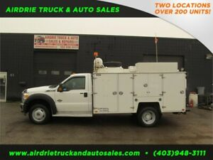 2012 Ford Super Duty F-550 XLT VMAC+Brutus Body+Oil Recovery
