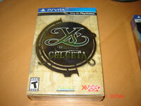 YS MEMORIES OF CELCETA COLLECTOR'S EDITION PS VITA NEUF SEALED