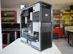 hp: z600 xeon 6 cores / ssd / 24 go / graphic card 4 go