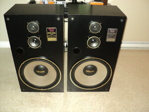 mach 4000 speakers plus lxi amp and tuner