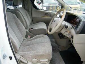 2002 Nissan Elgrand E51 Pearl White Automatic Wagon