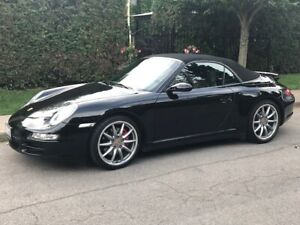 2008 Porsche 911 Carrera 4S - Convertible-Manual- 59,755 km