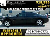 2010 Dodge Charger R/T AWD $169 bi-weekly APPLY NOW DRIVE NOW