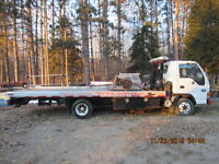 towing plateforme remorqueuse gmc w4500