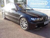 BMW 330 3.0TD 2998cc auto 2004 d Sport Sat Nav Full S/H 9 stamps P/X