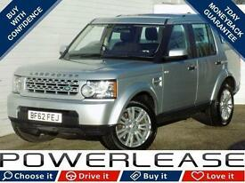 2013 62 LAND ROVER DISCOVERY 3.0 4 SDV6 GS 5D AUTO 255 BHP DIESEL