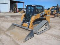 Skid steer for hire, gravel, minor excavation etc.
