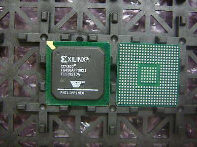 Xilinx Virtex Xcv300-6fg456c Ic Fpga 312 Io 456-fbga New