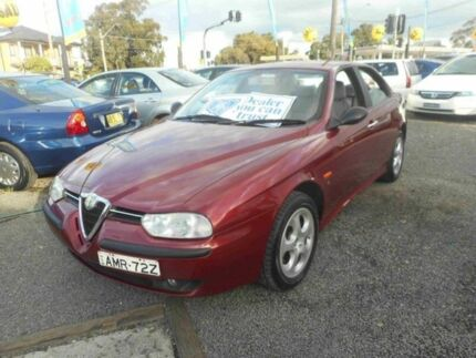 2000 Alfa Romeo 156 2.0 Selespeed Twin Spark Burgundy 5 Speed Automatic Selespeed Sedan Bankstown Bankstown Area Preview