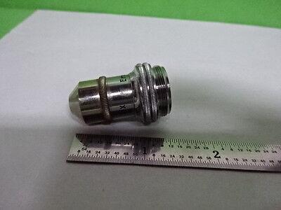 Microscope Part Vintage Objective Leitz Germany 10x 3 Optics As Is B2-m-09