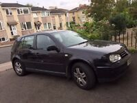 VW Golf diesel; 6 mths MOT; new cam belt, brakes etc