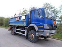 2005 (55) mercedes atego 1823 4x4 fuel bowser