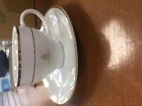 16 piece queens golden jubilee tea set