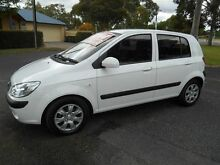 2010 Hyundai Getz TB MY09 S White 5 Speed Manual Hatchback Nailsworth Prospect Area Preview