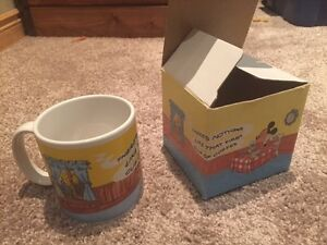 Retro Walt Disney Coffee Mug in original box circa 1987
