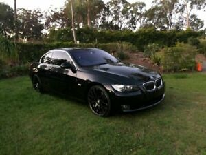 2007 BMW 335i E92 Steptronic Black Sapphire 6 Speed Sports Automatic Coupe Capalaba Brisbane South East Preview