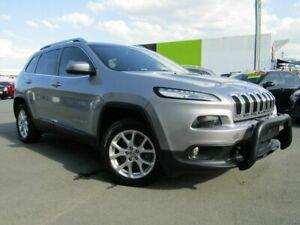 2014 Jeep Cherokee KL MY15 Longitude (4x4) Silver 9 Speed Automatic Wagon Underwood Logan Area Preview