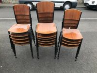 Stacking Chairs 1960's