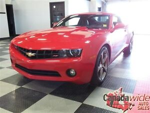 2013 CHEVROLET CAMARO,HUD,LEATHER,SUNROOF,RS PKG,EASY FINANCING