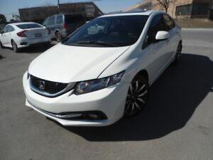 2013 Honda Civic Touring Sedan/Navi/Leather seat