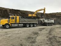 Trucks ready to haul SNOW! CALL ROSS 780.717.8004 FOR RATES