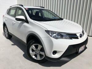 2013 Toyota RAV4 ZSA42R MY14 GX 2WD White 6 Speed Manual Wagon Mundingburra Townsville City Preview