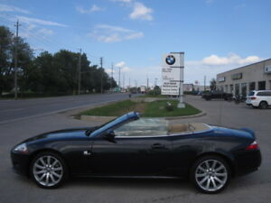 YES ONLY 045200 KMs ! PRISTINE ! 2007 JAGUAR XK8 CONVERTIBLE