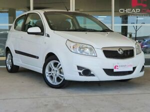 2010 Holden Barina TK MY10 White 5 Speed Manual Hatchback Brendale Pine Rivers Area Preview